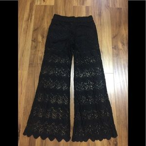 Netted pants
